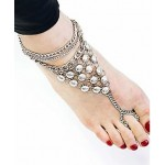Foot Fetish Chain- Silver 0001