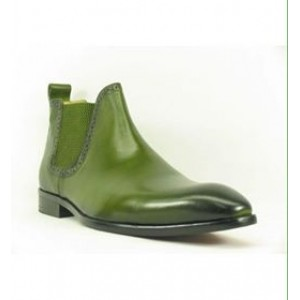 Ankle Boot- Olive