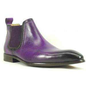 Ankle Boot- Purple